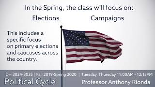 IDH 3034-3035: Political Cycle