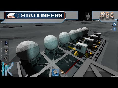 Let's Play Stationeers - E4: Playing Around With Filtration & Gas Separation!