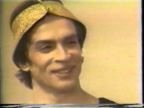 Rudolf Nureyev Interview