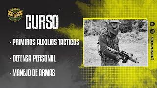CURSO OFICIAL DISTRITO 16 MANEJO DE ARMAS  PRIMEROS AUXILIOS TACTICOS  DEFENSA PERSONAL