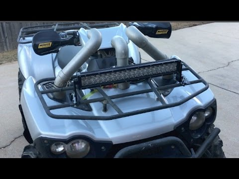 How to make a simple led light bar mount for atvsjeeps youtube how to make a simple led light bar mount for atvsjeeps aloadofball Gallery