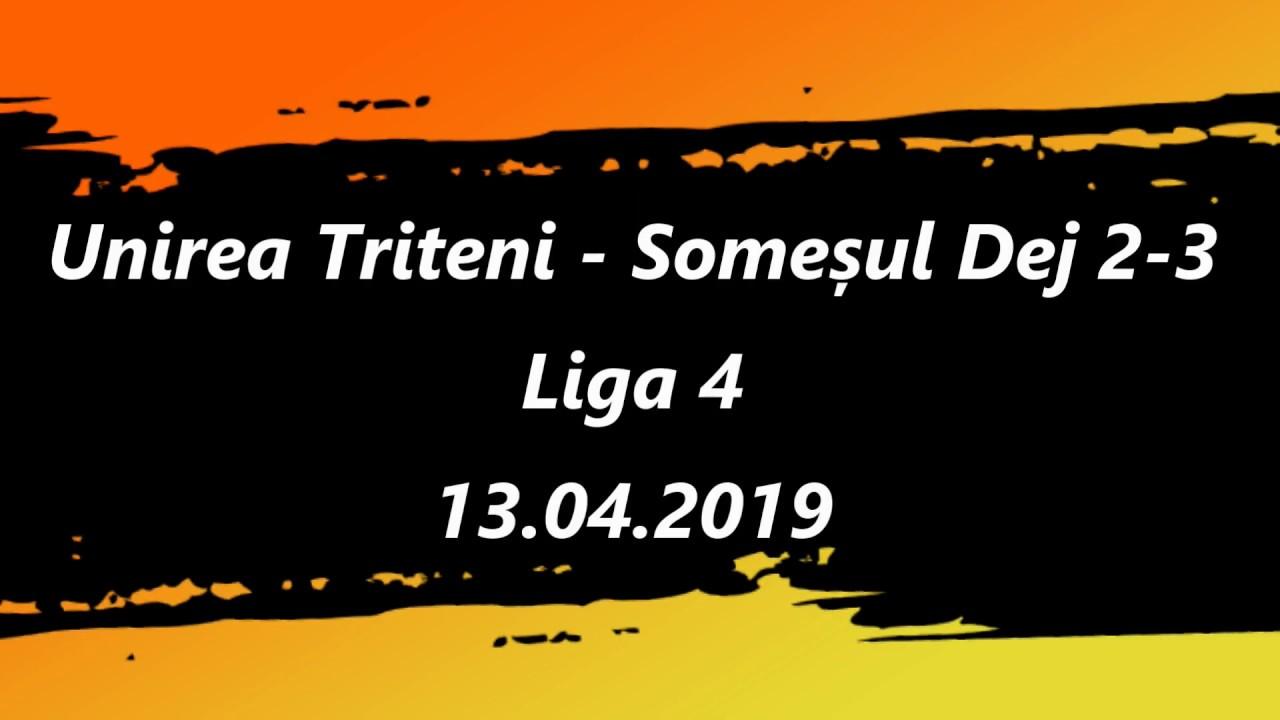 Unirea Tritenii de Jos - Someșul Dej 2-3 (13.04.2019)