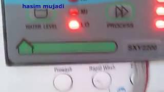 memasang modul mesin cuci universal sxy2200 pada mesin cuci front loading