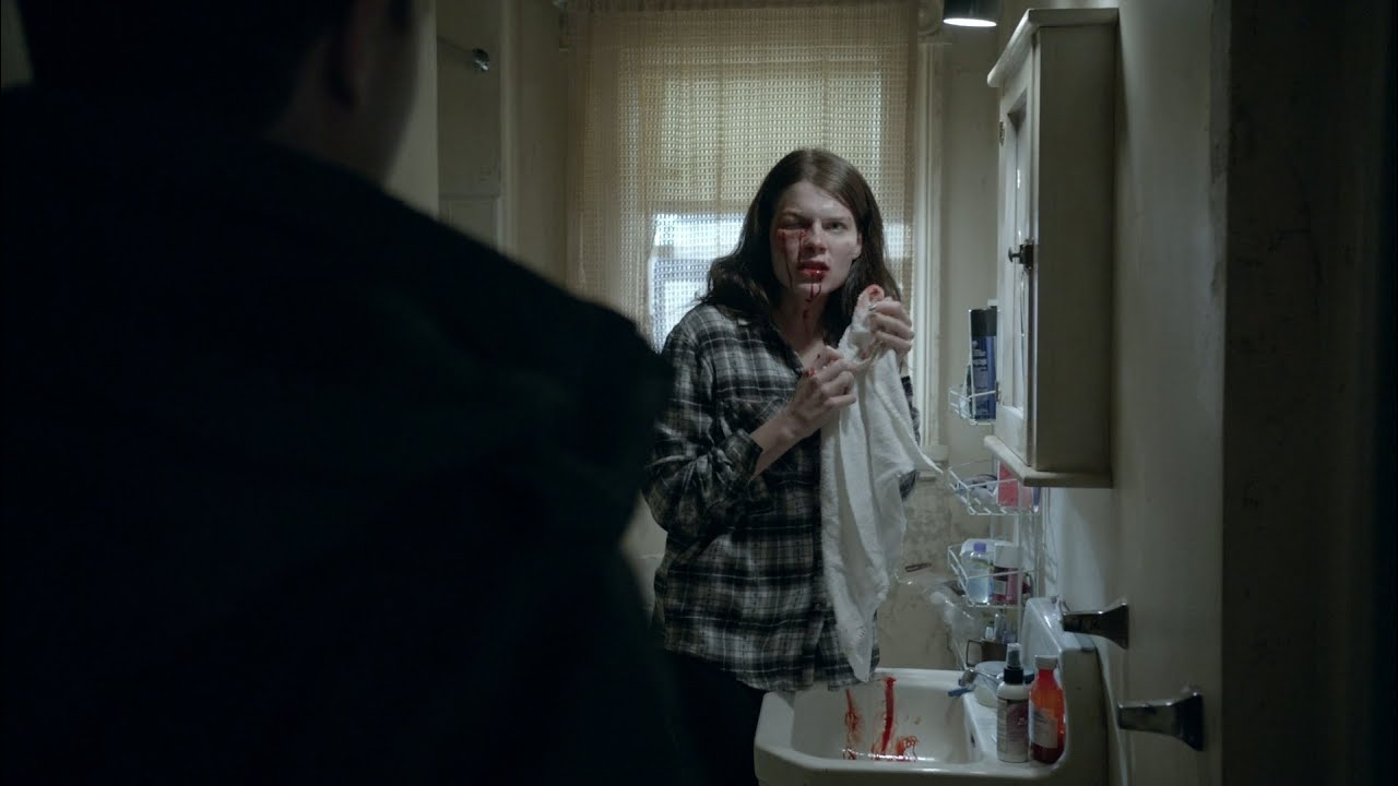 Download Mickey finds Mandy beat up | S04E09 | Shameless