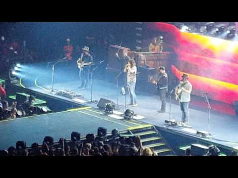 Dave Grohl & Zac Brown Band - Live & Let Die - LA Forum 6/5/16