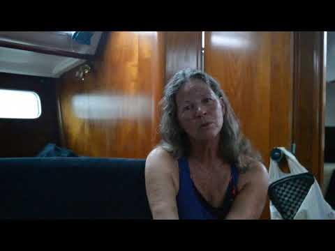 Sailed into Isle Madame Boat Club, Arichat, Nova Scotia.
