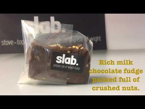 Chocolate Nut Slab Flavour Video - Slab Artisan Fudge