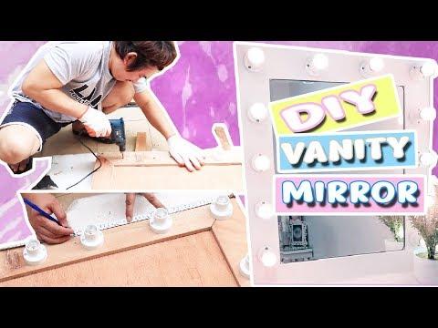 DIY VANITY MIRROR feat Handyman (MADALI LANG GAWIN!) 😊 Purpleheiress