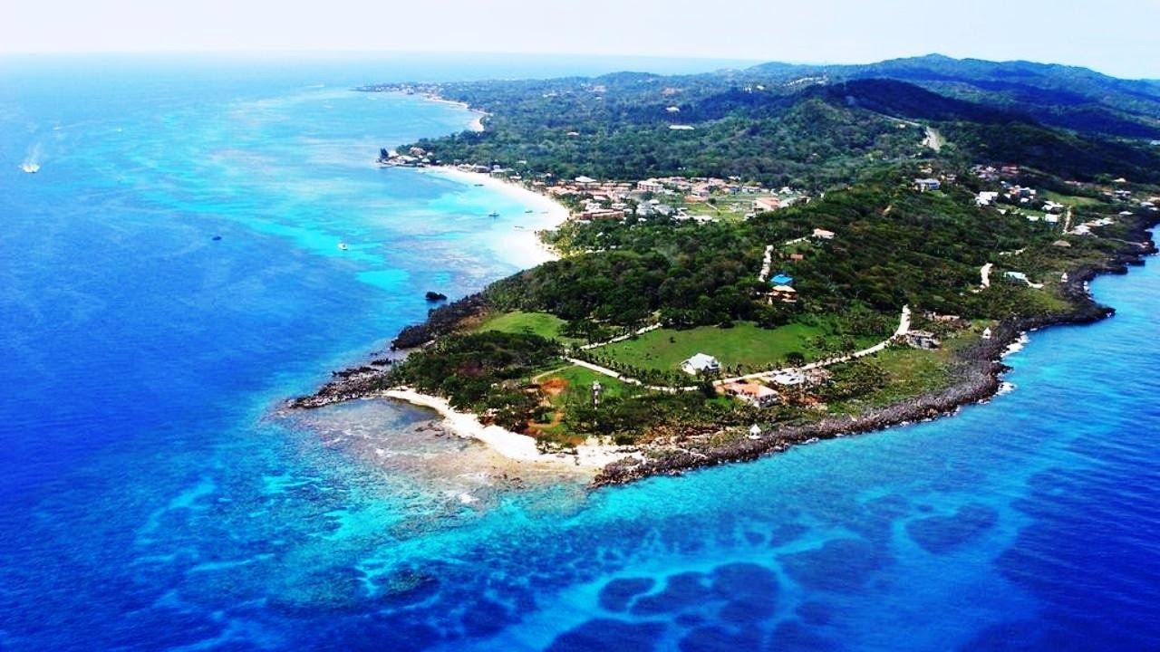 ROATAN Honduras (West Bay beach) - YouTube