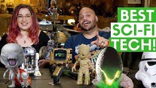 Best Sci-Fi Tech Toys: On Alien: Covenant Movie Set!