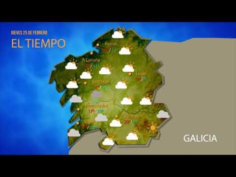¿Qué tiempo hará este jueves en Ourense?