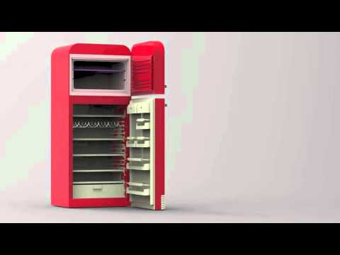frigo smeg youtube. Black Bedroom Furniture Sets. Home Design Ideas