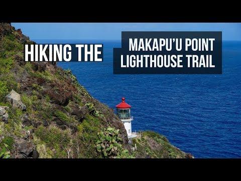 Makapu'u Point Lighthouse Trail - Scenic Oahu Hike in 4K