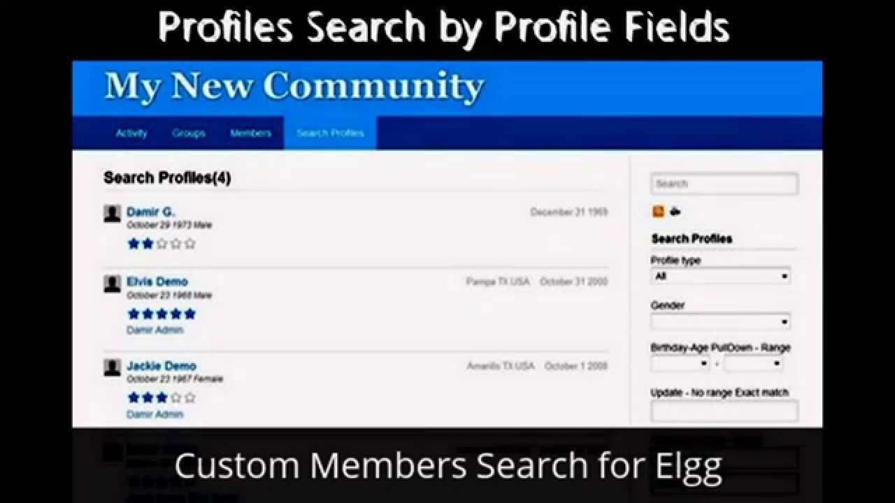 Elgg matchmaking plugin