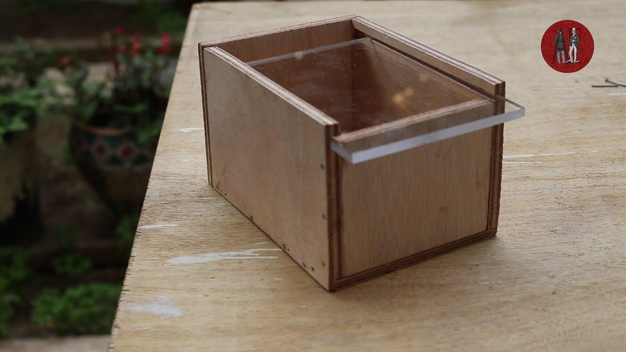 Gsac Makes | Ξύλινο κουτί