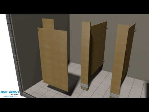 Toilet Partition Installation of Laminate