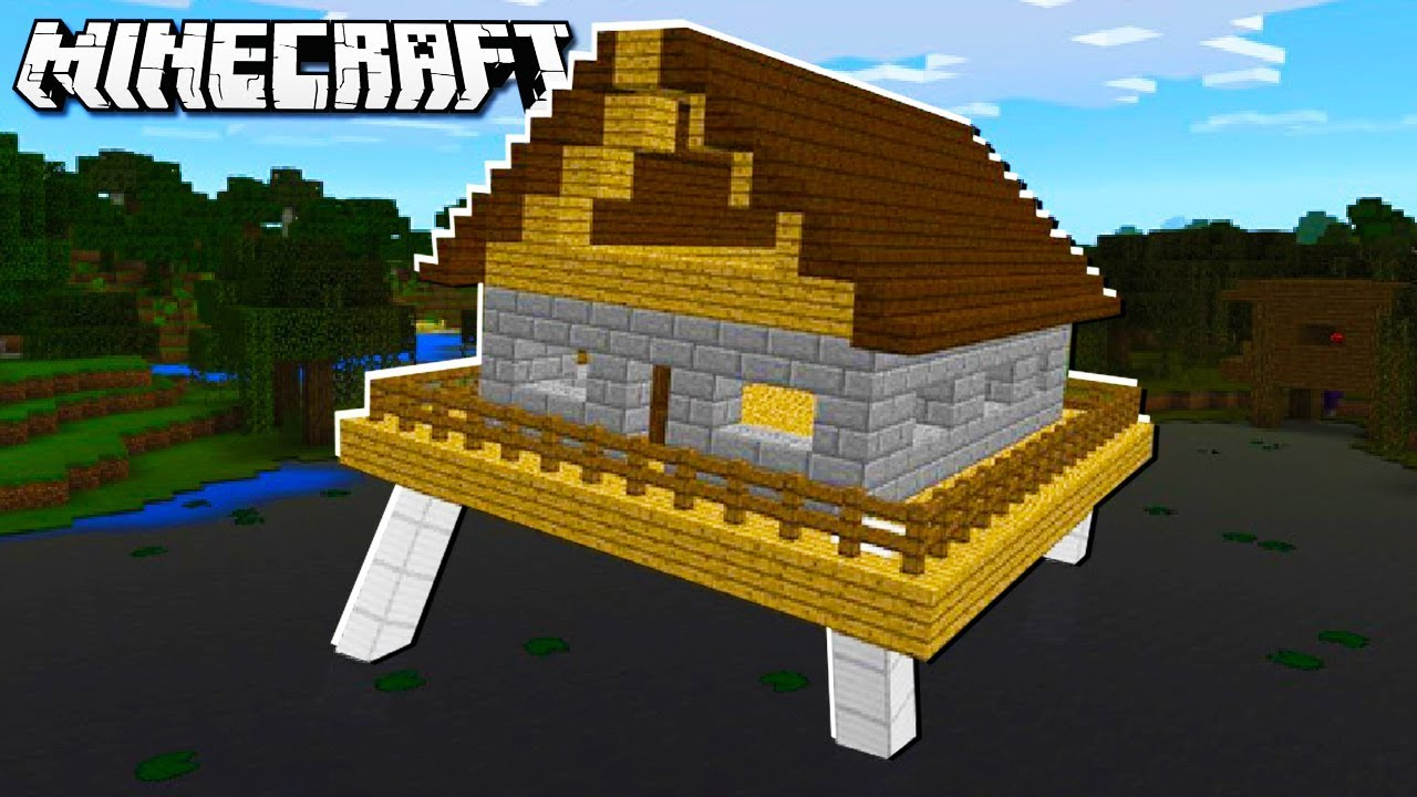 Easy MOVING & WALKING HOUSE in Minecraft!