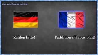 Französisch lernen für Anfänger   Vokabeln zum nachsprechen Teil 2 🇨🇵 ✔️