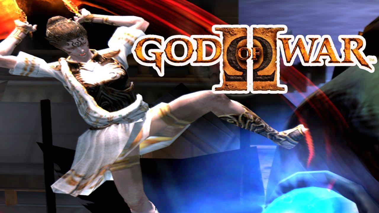 GOD OF WAR 2 : ATÉ ZERAR COM ATHENA! - YouTube