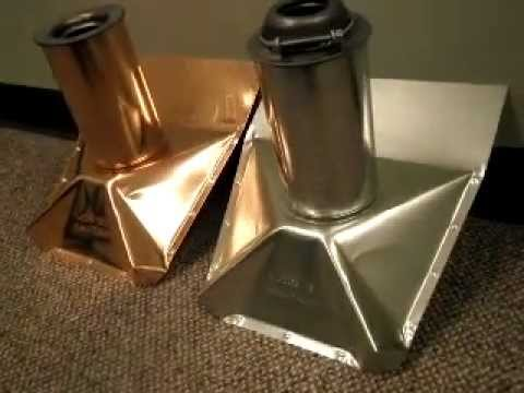 Metal Plumbing Vent Pipe Boots By Luxury Metals Youtube