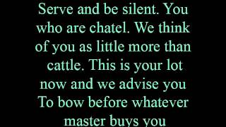 Marketplace - lyrics