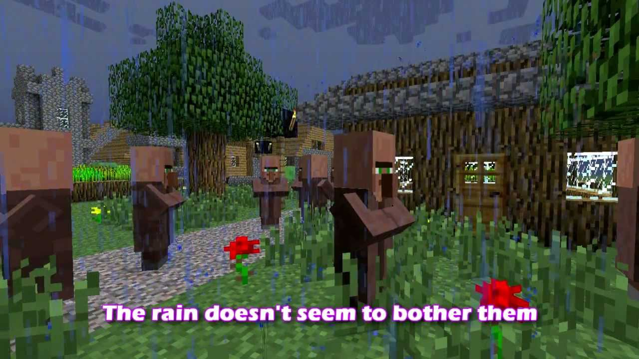 Minecraft 12 Update Smarter Villagers And Scared