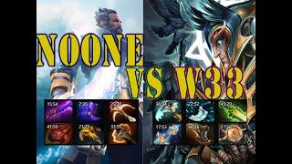 W33 Skywrath mage vs Noone Kunkka 9kmmr duel![2140p]