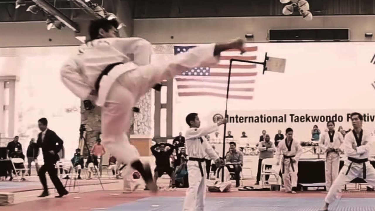 Incredible Taekwondo Skills 2016