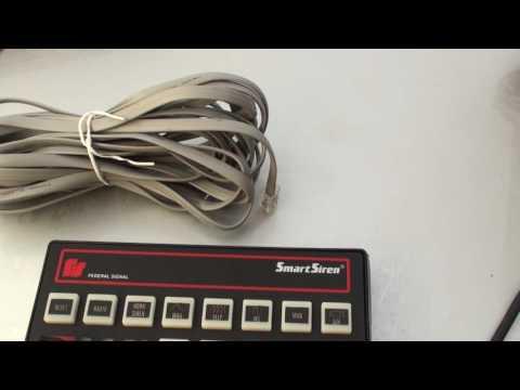מערכת כריזה - סירנה למשטרה של Federal Signal Smart Siren SS2000SS-SB