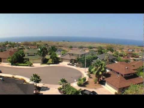 Pualani Estates Neighborhood Video Tour, Million Dollar Ocean Views in Kona Hawaii for Under 450k