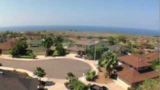 Pualani Estates Neighborhood Video Tour, Million Dollar Ocean Views in Kona Hawaii for Under 450k