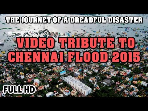 The Journey of a Dreadful Disaster - CHENNAI FLOOD 2015