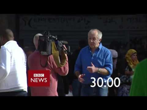 BBC News 60 second countdown - with Bill Bailey