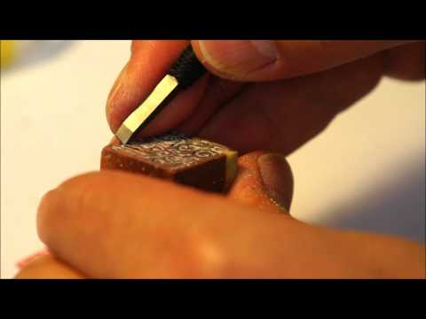 The Art of Chinese Seal Engraving (2/2) making of an Artist Penname Seal for Lina in Russia
