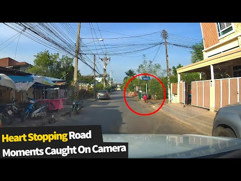 20 Heart Stopping & Scary Road Moments Caught On Camera