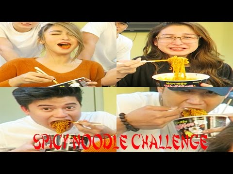 Spicy Noodle Challenge ft. Chienna, Tom & Jimboy