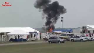 Stunt Plane Crash At Dayton Air Show Extended Footage With Different Angles