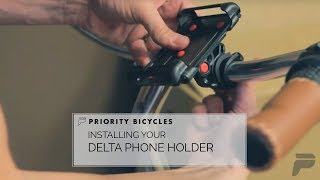 Priority Bicycles - Install Delta Phone Holder