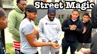 Crazy Street Magic Funny Reactions! | THEY RUN AWAY!