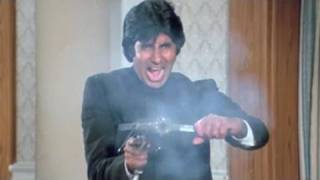 Amitabh Bachchan kills Kader Khan | Inquilaab | Action Scene 20/21