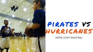 🏀 Pirates vs Hurricanes | Game 2 Highlights | Greene County Basketball