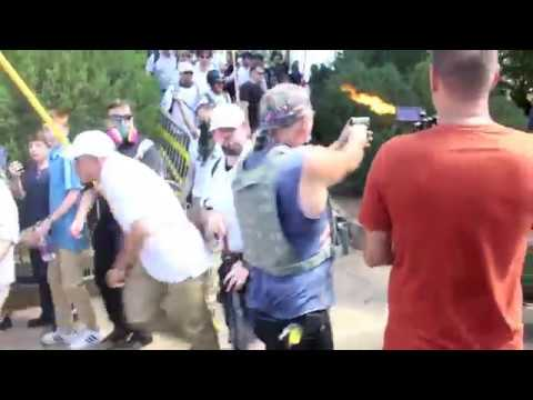 White Supremacist Fired At Counter-protester In Charlottesville On Aug. 12