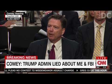 Former FBI Director James Comey Sheds Light On Obama's DOJ