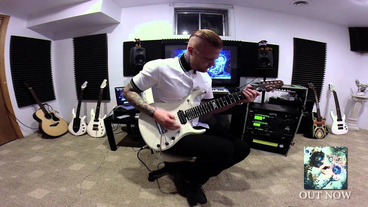 Lee McKinney (Born of Osiris) - Exhilarate Playthrough ... Lee Mckinney 2014