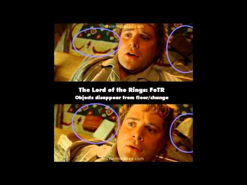 Lord Of The Rings: Fellowship Of The Ring (2001) Movie Mistakes