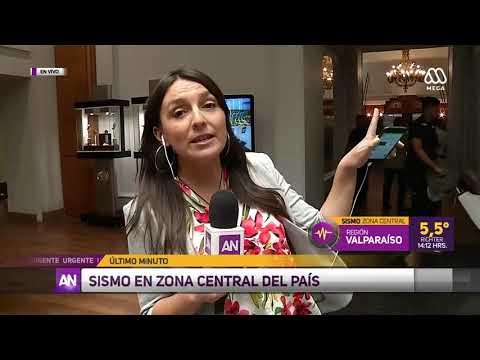 Temblor de 5.2 se registra en la zona central de Chile
