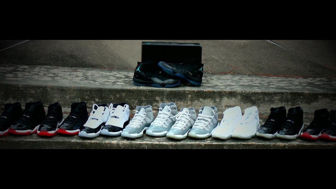 2cff950b4bca Air Jordan Retro 11 s Collection