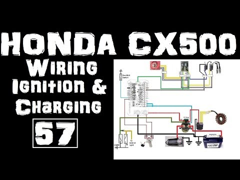 57.Honda CX500 Cafe Racer- Wiring-Ignition & Charging systems - YouTubeYouTube