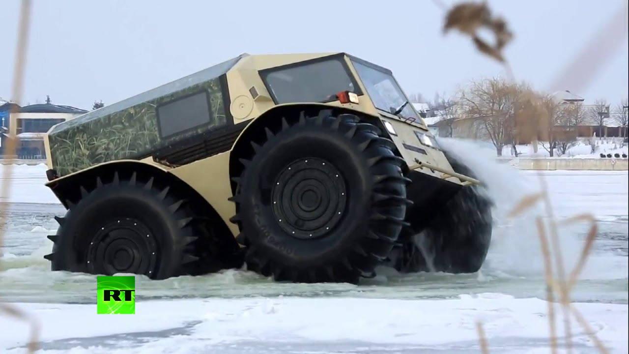 Real ATV: Russian badass lunar-rover like truck storms ...