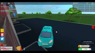 Interesting funny car stuck on conveyor (Roblox Gamedev life)